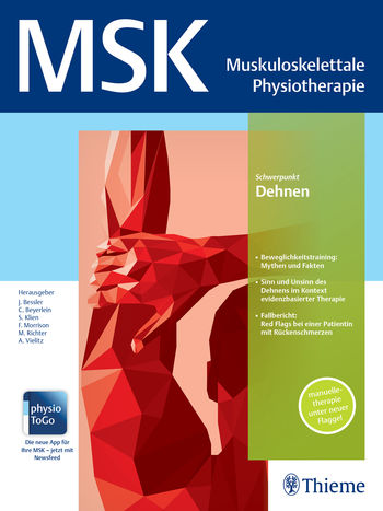 MSK - Muskuloskelettale Physiotherapie Cover