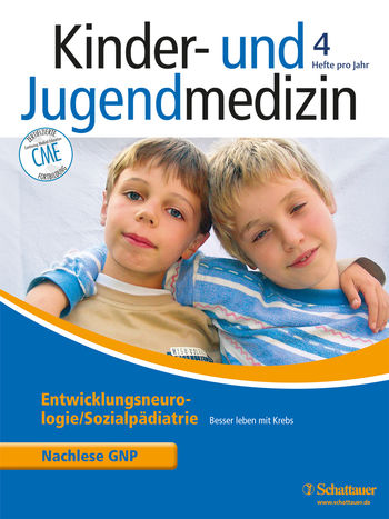 Kinder- und Jugendmedizin Cover