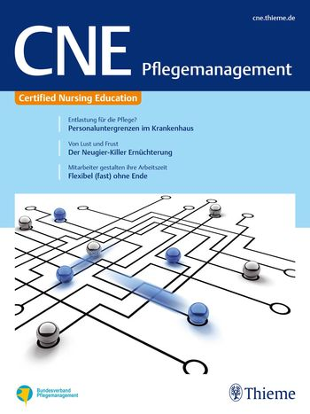 CNE Pflegemanagement Cover