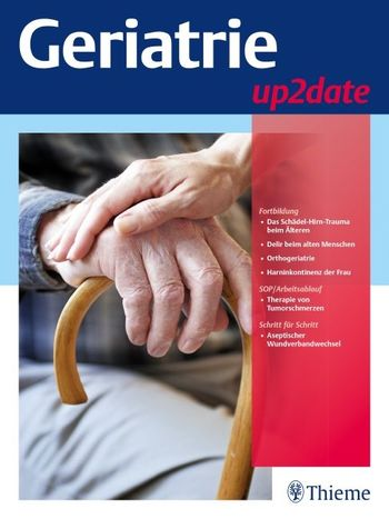 Geriatrie up2date Cover