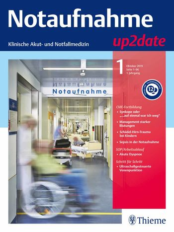 Notaufnahme up2date Cover
