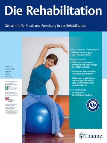 Die Rehabilitation Cover