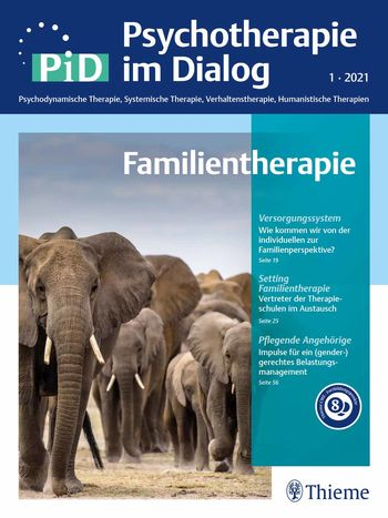PiD - Psychotherapie im Dialog Cover