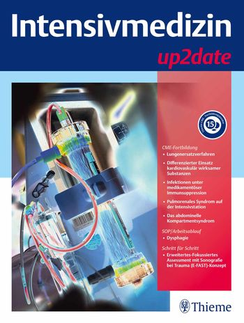 Intensivmedizin up2date Cover
