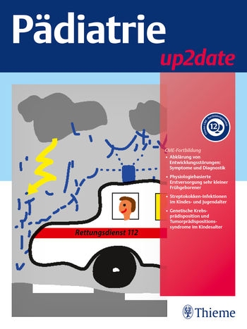 Pädiatrie up2date Cover
